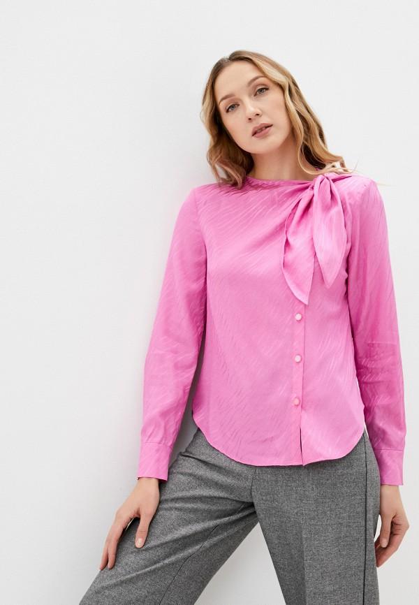 женская блузка twist & tango, розовая