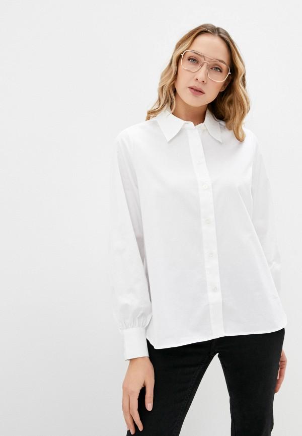 женская рубашка с длинным рукавом twist & tango, белая