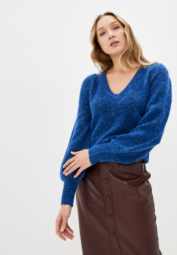 женский пуловер twist & tango, синий