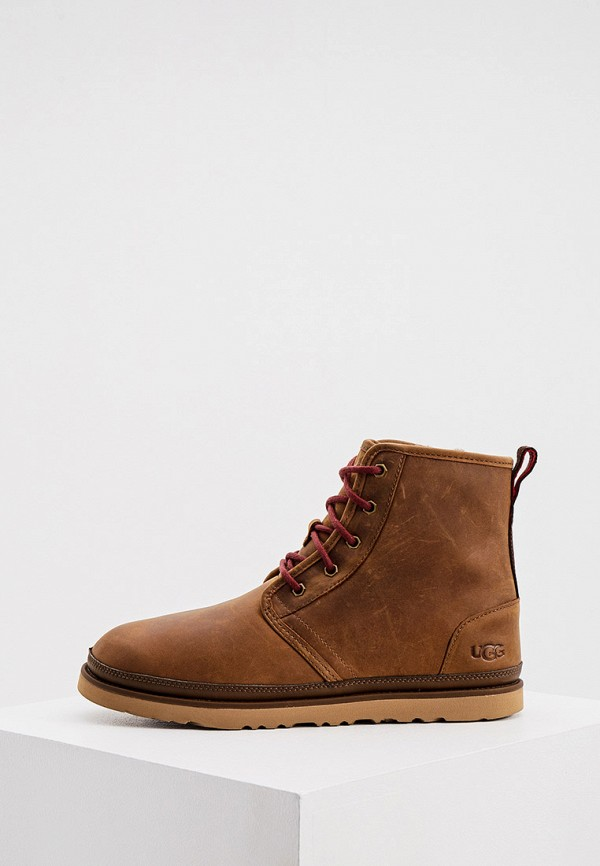 мужские ботинки ugg, коричневые