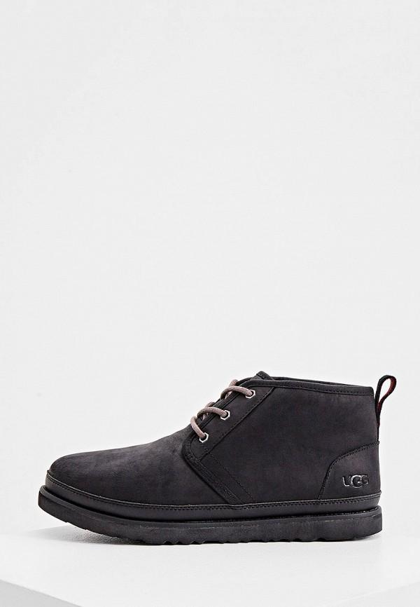 мужские ботинки ugg, черные
