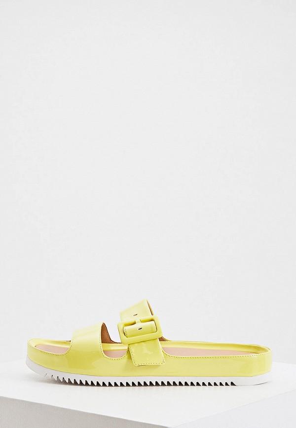 женское сабо ugg, желтое