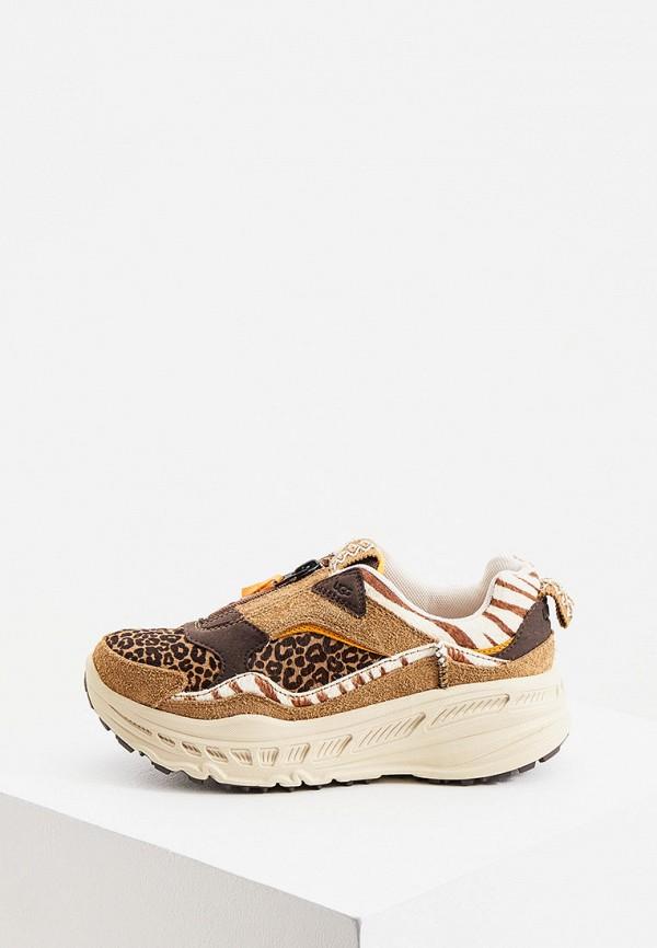 женские кроссовки ugg, коричневые