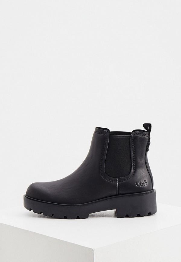 женские ботинки ugg, черные