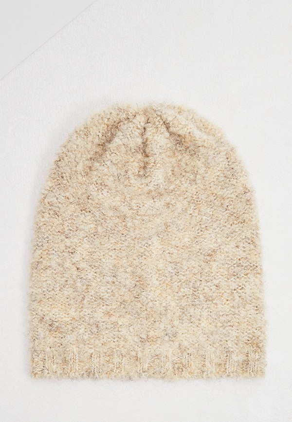 женская шапка ugg, бежевая