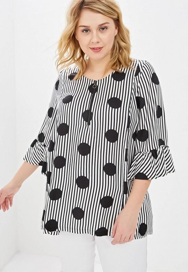 Блуза Ulla Popken Ulla Popken UL002EWEBWT7 недорго, оригинальная цена