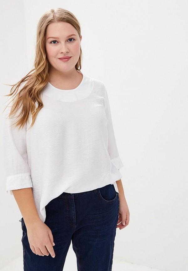женская блузка ulla popken, белая