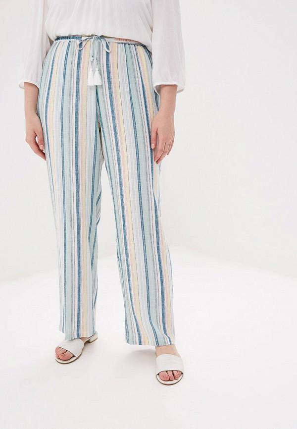 женские повседневные брюки ulla popken, бирюзовые