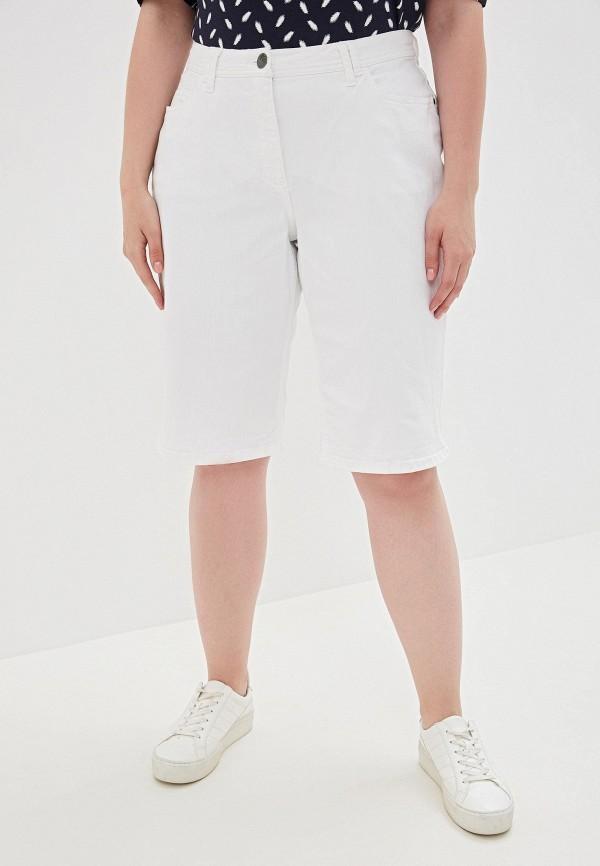 женские шорты ulla popken, белые