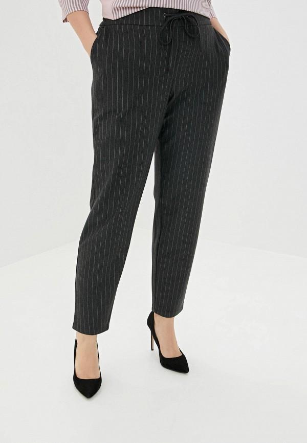 женские повседневные брюки ulla popken, серые