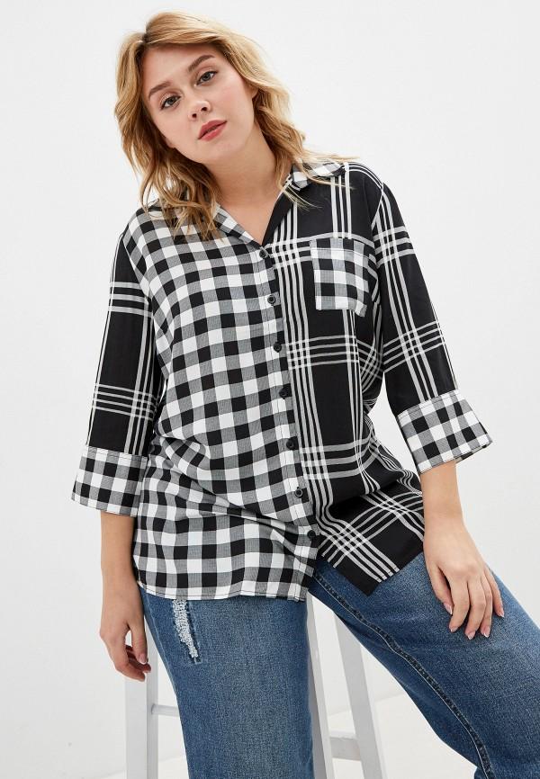 женская блузка ulla popken, черная