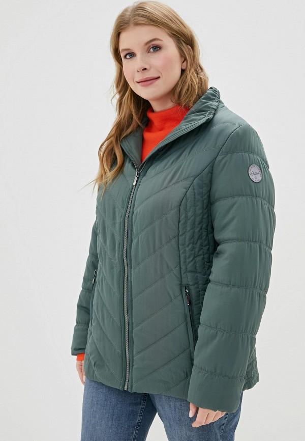 женская куртка ulla popken, хаки
