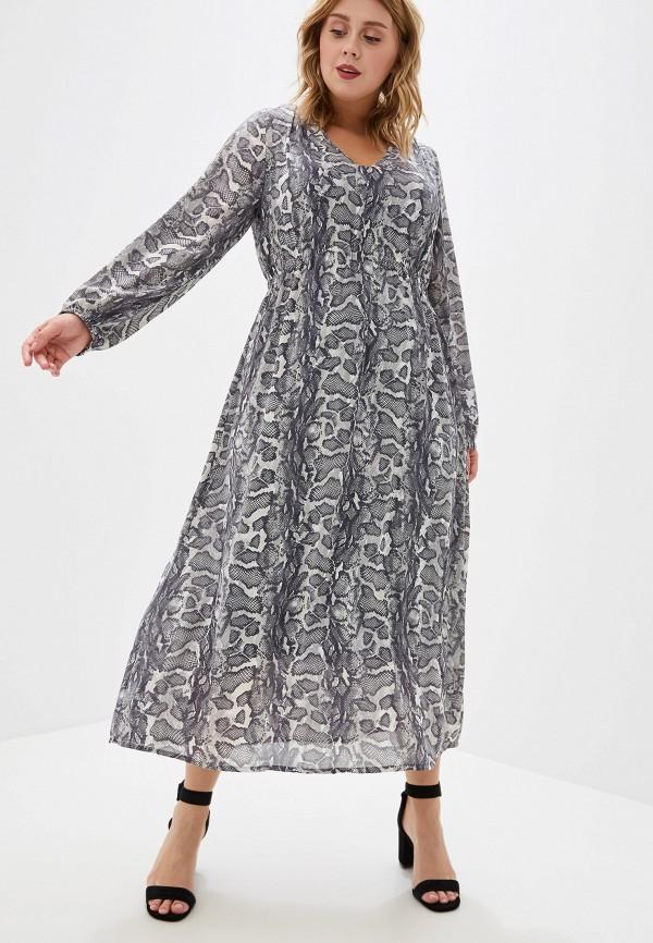 женское повседневные платье ulla popken, разноцветное