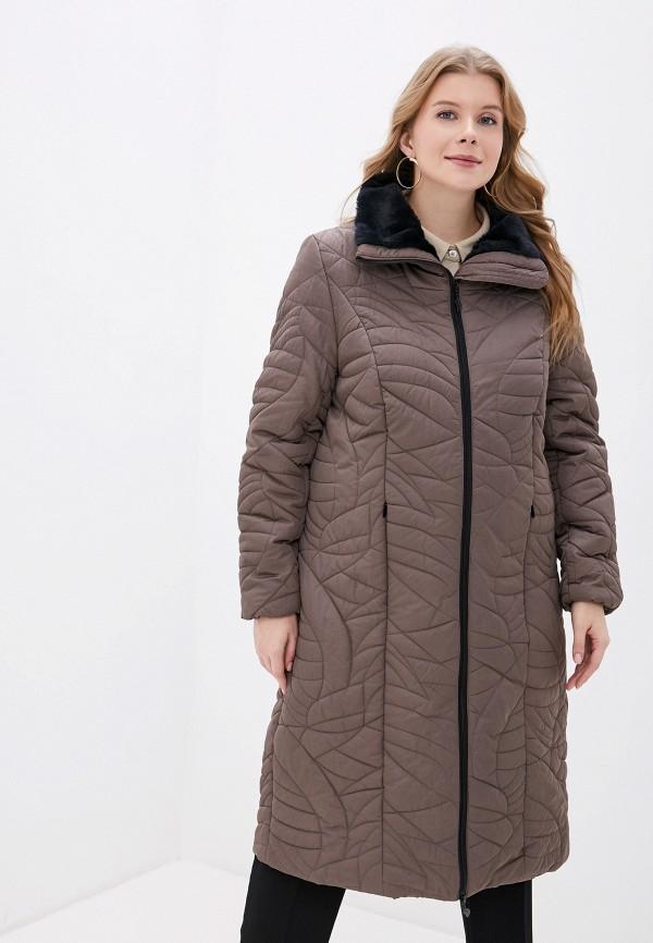 женская куртка ulla popken, бежевая