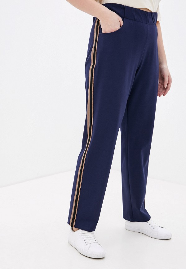 женские брюки ulla popken, синие