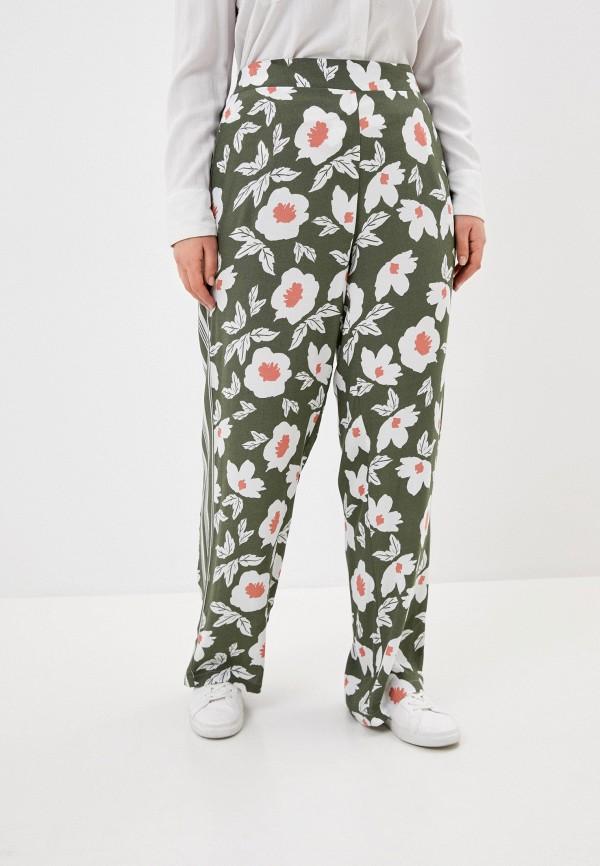 женские прямые брюки ulla popken, серые