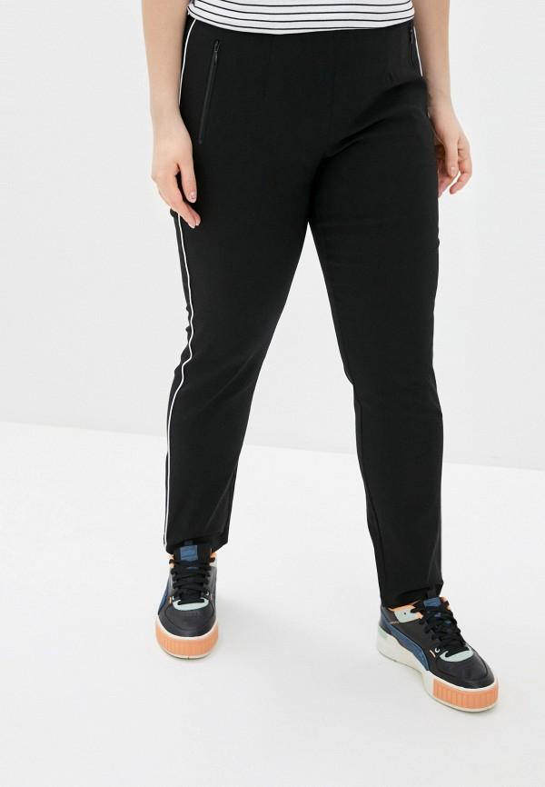 женские спортивные брюки ulla popken, черные