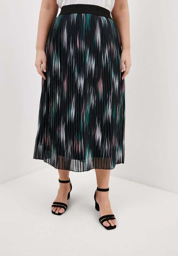 женская юбка ulla popken, черная