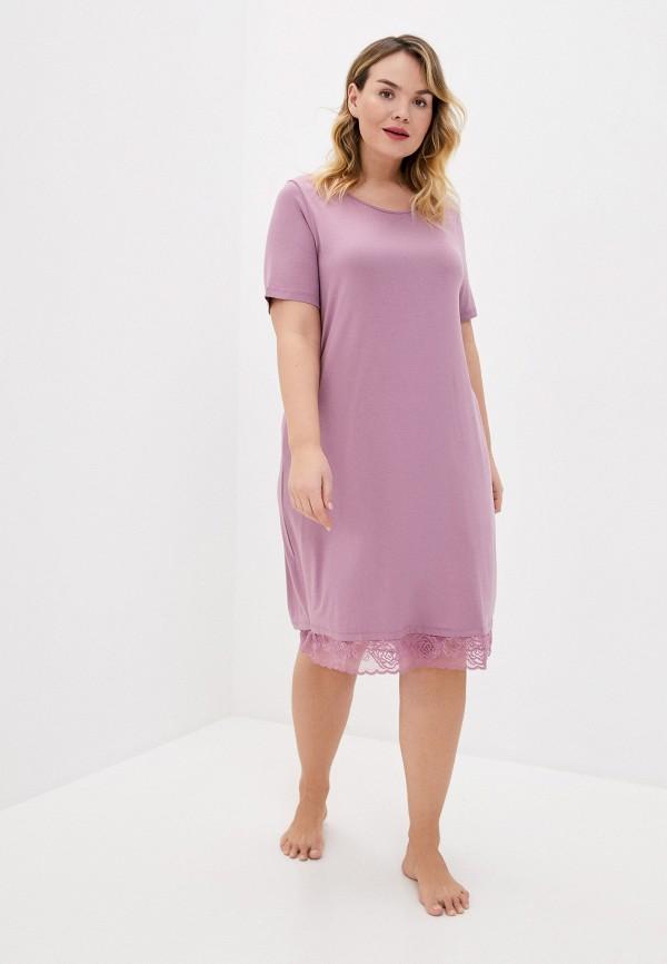 женское платье ulla popken, фиолетовое