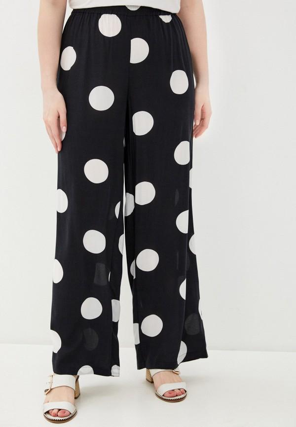 женские прямые брюки ulla popken, черные