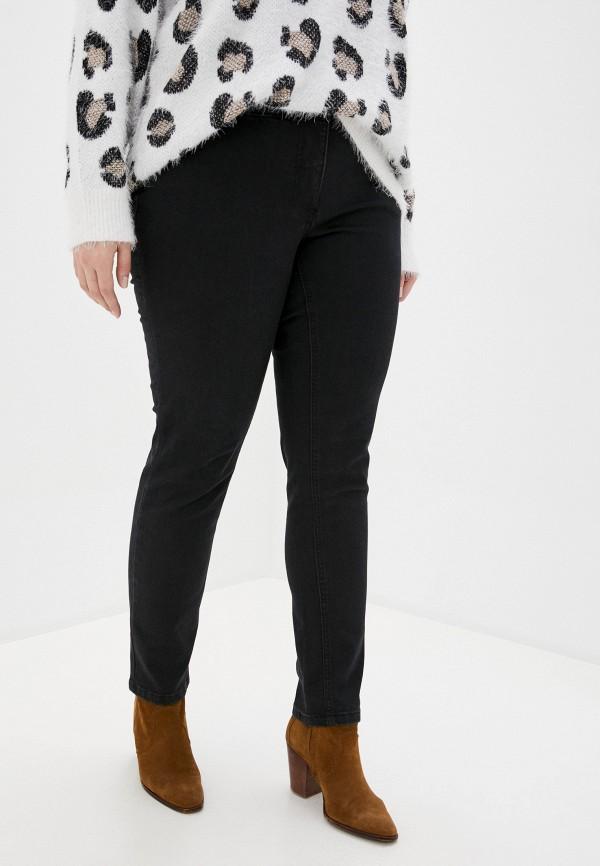 женские джинсы ulla popken, черные