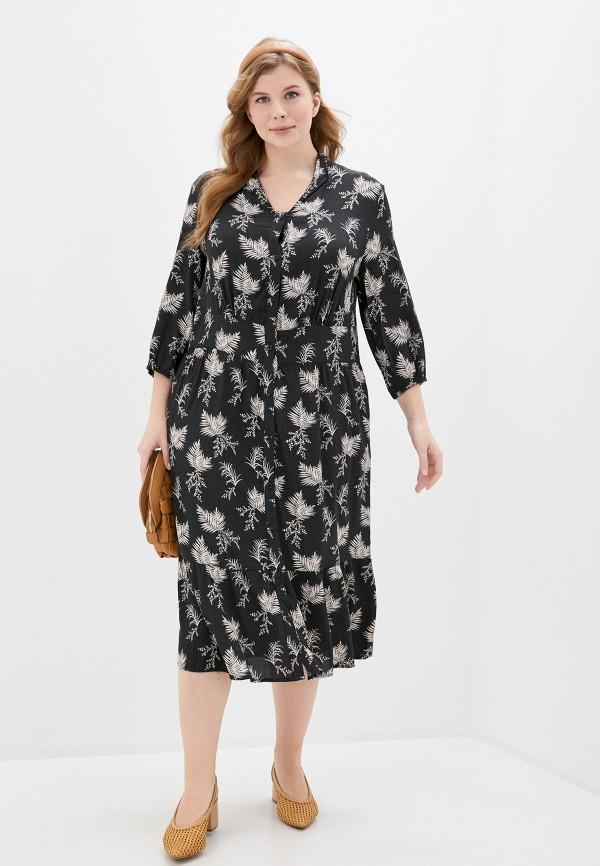 женское повседневные платье ulla popken, черное