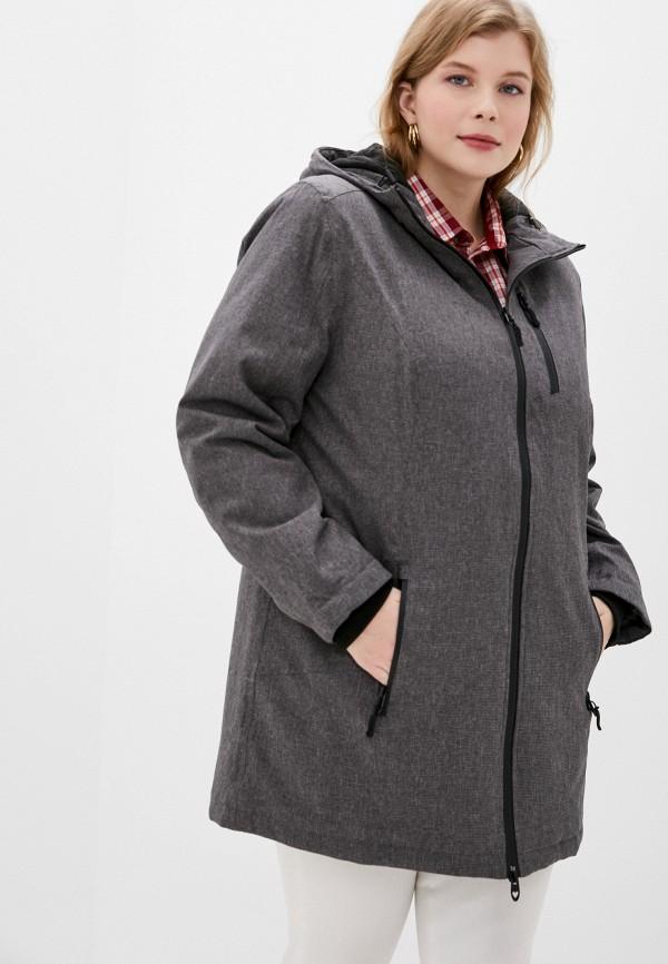 женская куртка ulla popken, разноцветная