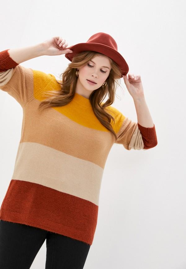 женский джемпер ulla popken, разноцветный