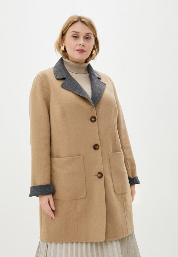 женское пальто ulla popken, разноцветное