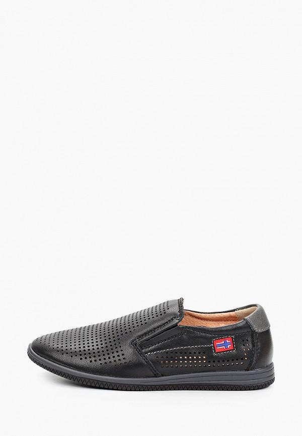 туфли ulёt для мальчика, черные