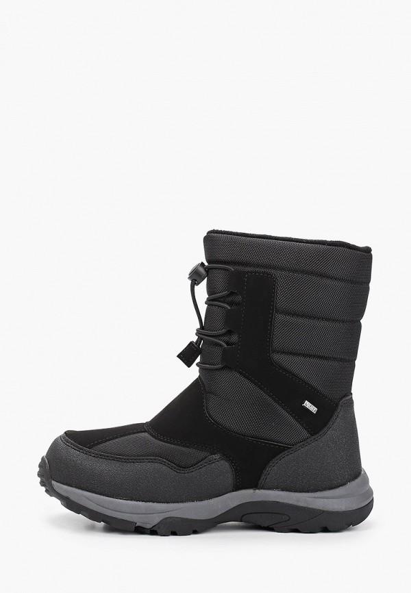 ботинки ulёt для мальчика, черные