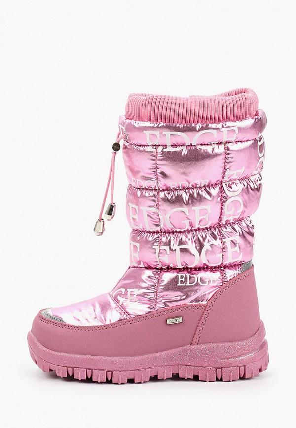 дутики ulёt для девочки, розовые