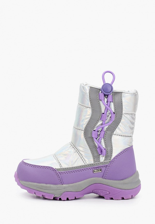 дутики ulёt для девочки, фиолетовые