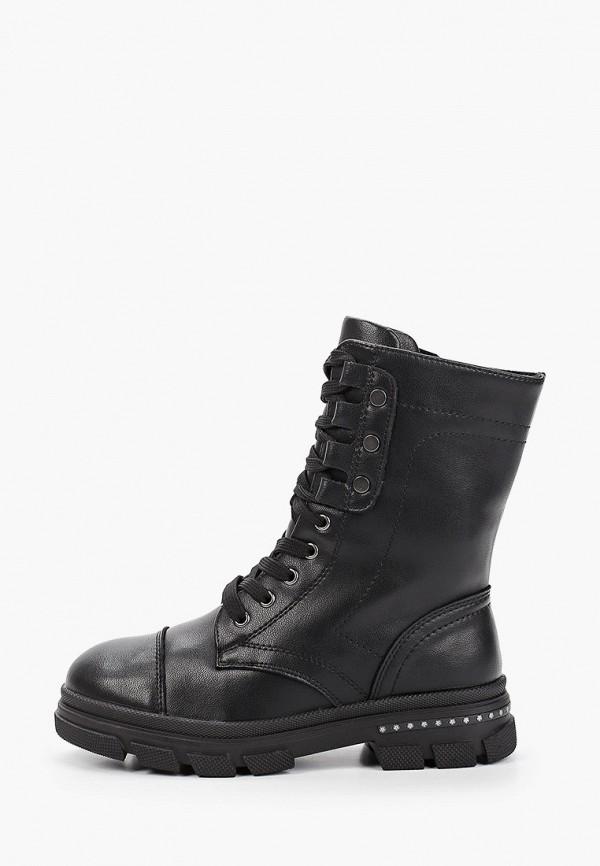 ботинки ulёt для девочки, черные