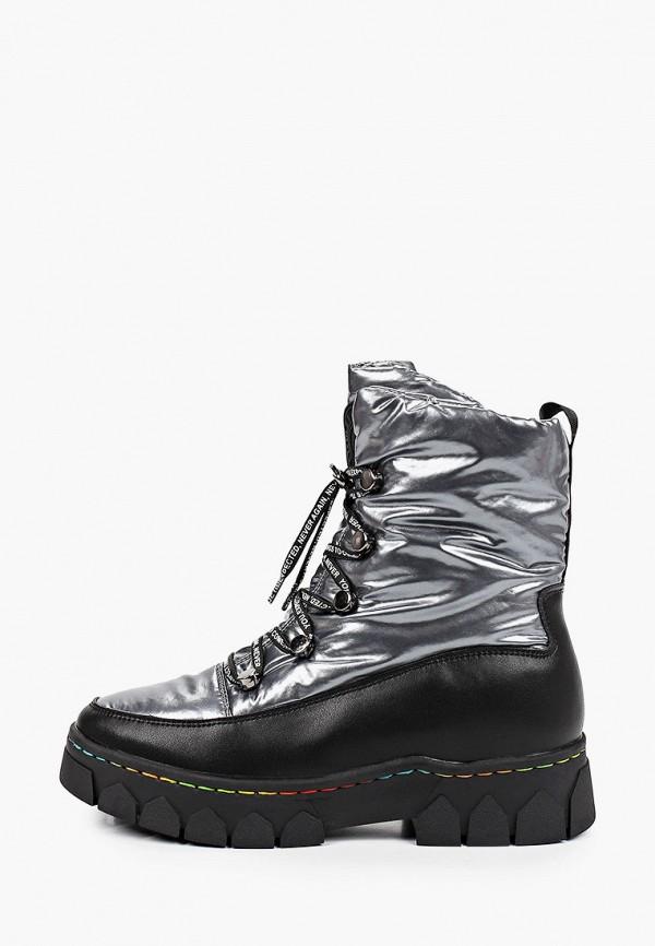 ботинки ulёt для девочки, серые