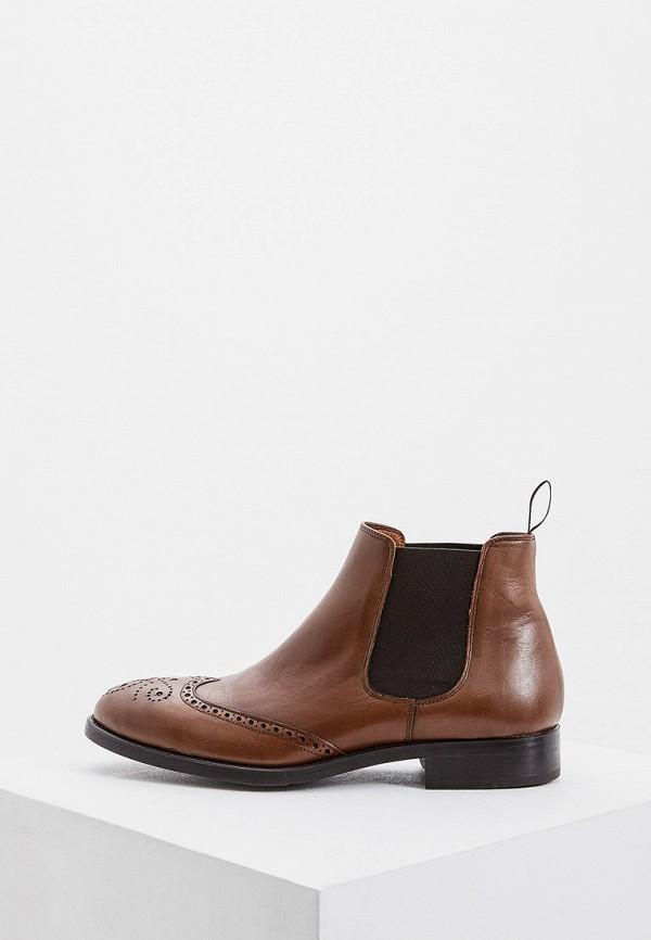 мужские ботинки umber, коричневые