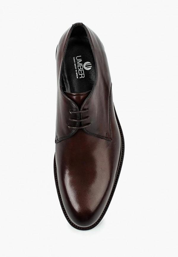 Фото 12 - мужские туфли Umber коричневого цвета