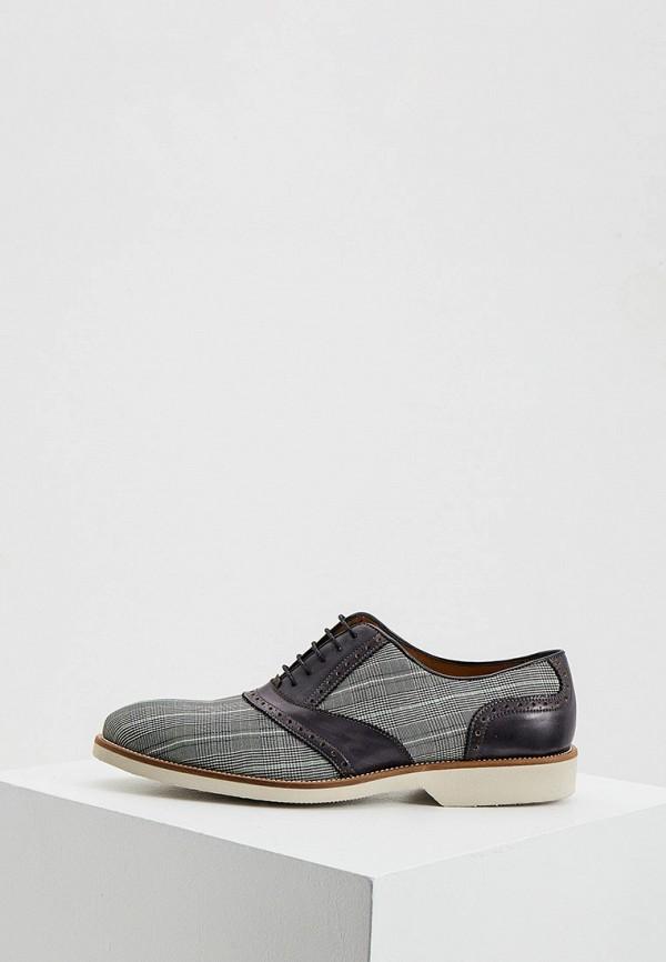 мужские туфли umber, серые