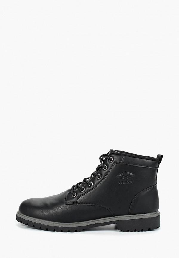 мужские ботинки umbro, черные