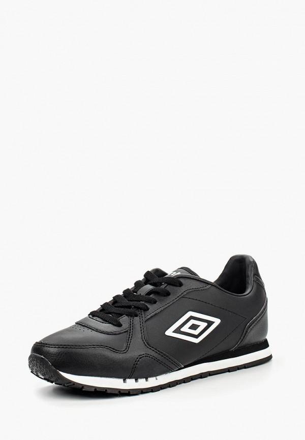 Фото 6 - мужские кроссовки Umbro черного цвета
