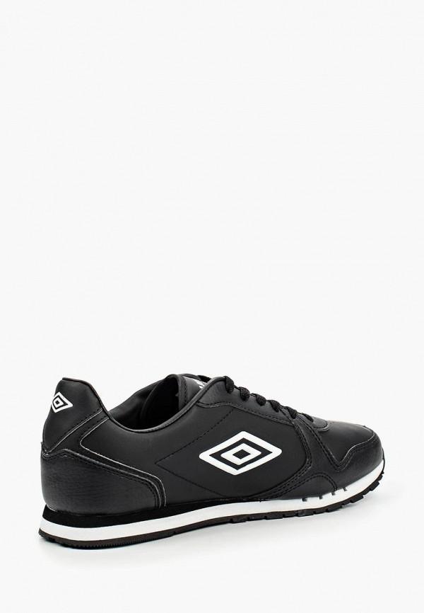 Фото 7 - мужские кроссовки Umbro черного цвета