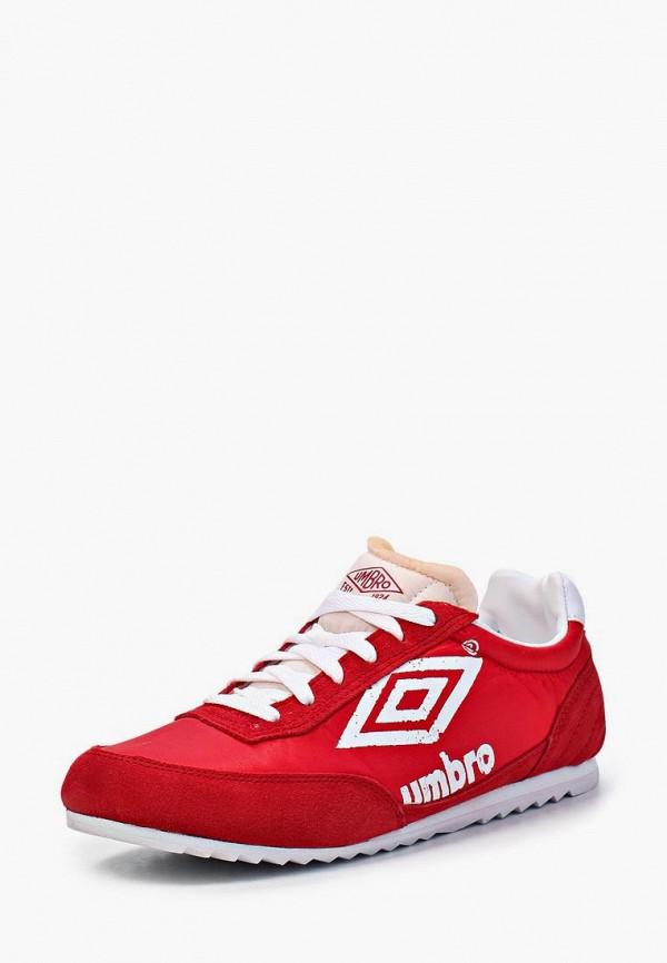 мужские кроссовки umbro, красные