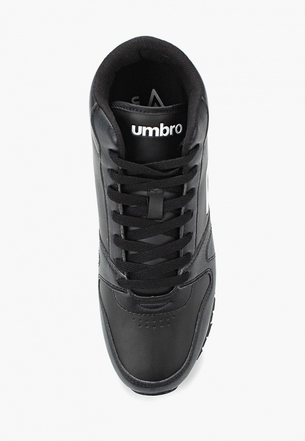 Фото 9 - мужские кроссовки Umbro черного цвета