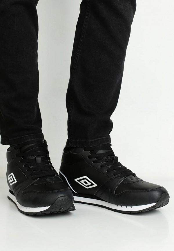 Фото 10 - мужские кроссовки Umbro черного цвета