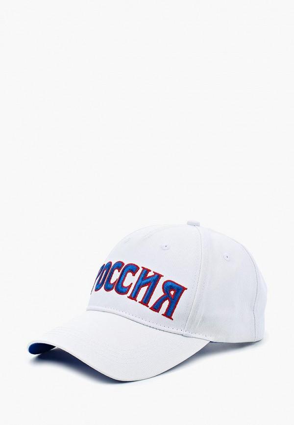 Купить Мужскую бейсболку Umbro белого цвета