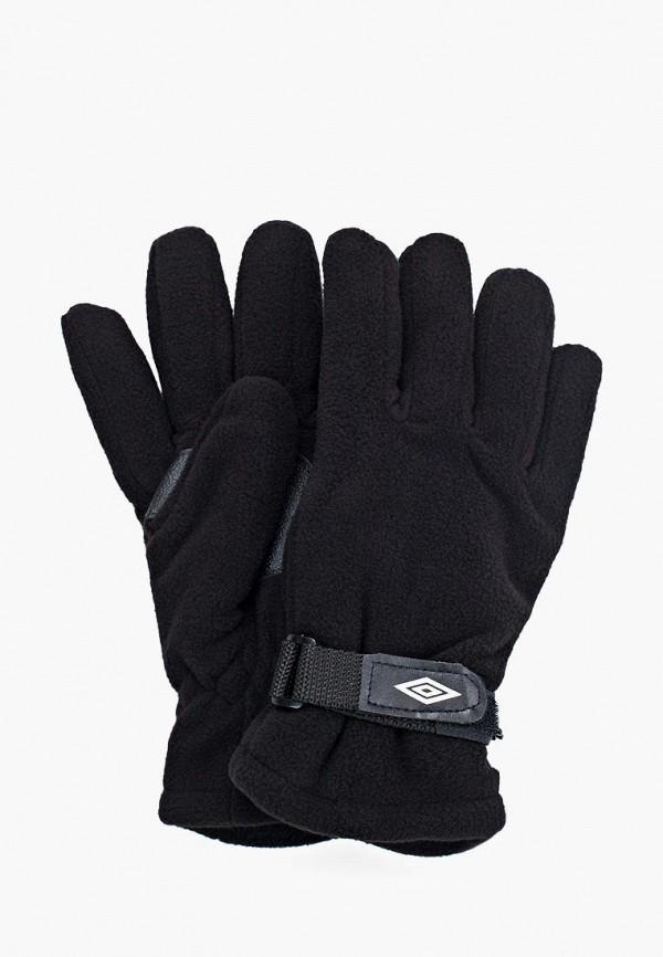 мужские перчатки umbro, черные