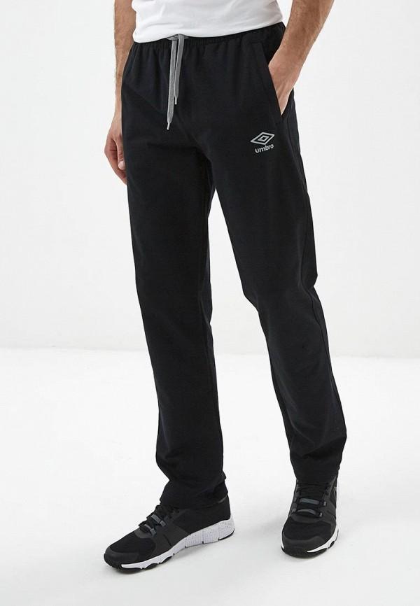 мужские спортивные спортивные брюки umbro, черные
