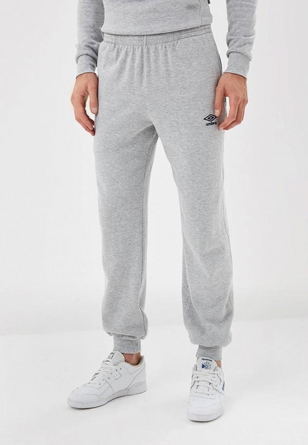 мужские спортивные спортивные брюки umbro, серые