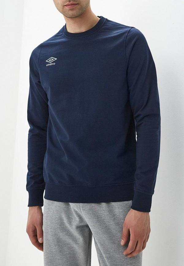 мужской свитшот umbro, синий