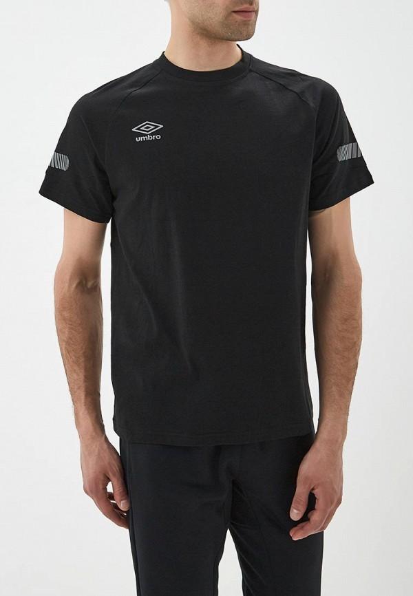 мужская футболка umbro, черная